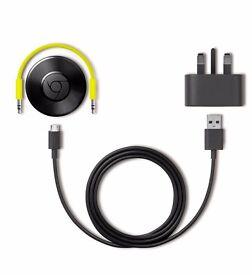 Multiroom Speakers - 3 x Chromecast Audio - Barely used!!