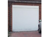 Electric Remote Control Roller Garage Door