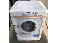 8KG INDESIT BWA81283XW New Free Standing Washing Machine Good Condition & Fully Working Order