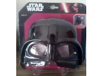 Brand New Star Wars DARTH VADER Kids SWIM MASK Swimming Goggles Pool Glasses