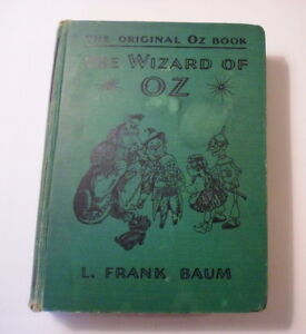 The Original Oz Book, The Wizard of Oz, 1939, Movie Edition