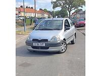 LOW MILEAGE TOYOTA YARIS 1.0 GOOD CLEAN CONDITION BARGAIN!