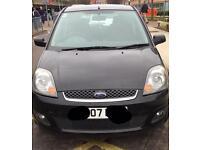 Ford Fiesta 07 plate black