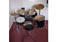 Complete 5 piece CB Drum Kit