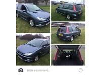Peugeot 206sw estate may swap