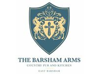 We are hiring The Barsham Arms, East Barsham