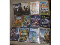 LARGE SELECTION OF DVDS FOR SALE