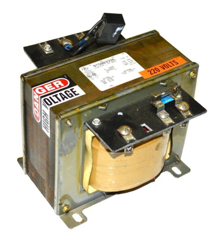 GENERAL ELECTRIC GE IND. CONTROL 9T58B3396 TRANSFORMER 2 KVA 230/460/575 VAC