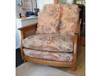 Ercol Bergere Large Armchair