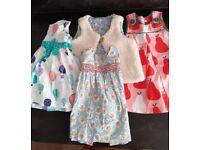 Baby Boden designer label girls cloths age 12- 24 months.