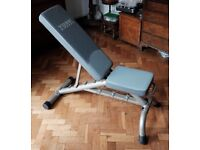 York Fitness 5 Seat Position Weight Bench
