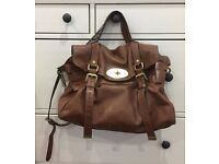 Genuine Mulberry Alexa Leather Handbag