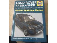 Landrover freelander Workshop manual