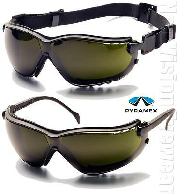 Pyramex V2g Ir5 Anti Fog Welding Lenses Safety Glasses Hybrid Goggles Z87