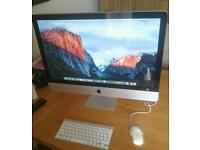 "Apple iMac 27"" 2010 8GB RAM 240GB SSD UPGRADE Latest OSX Plus Software Package"