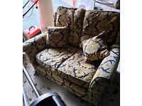 John Lewis Premium Sofa and Footstool