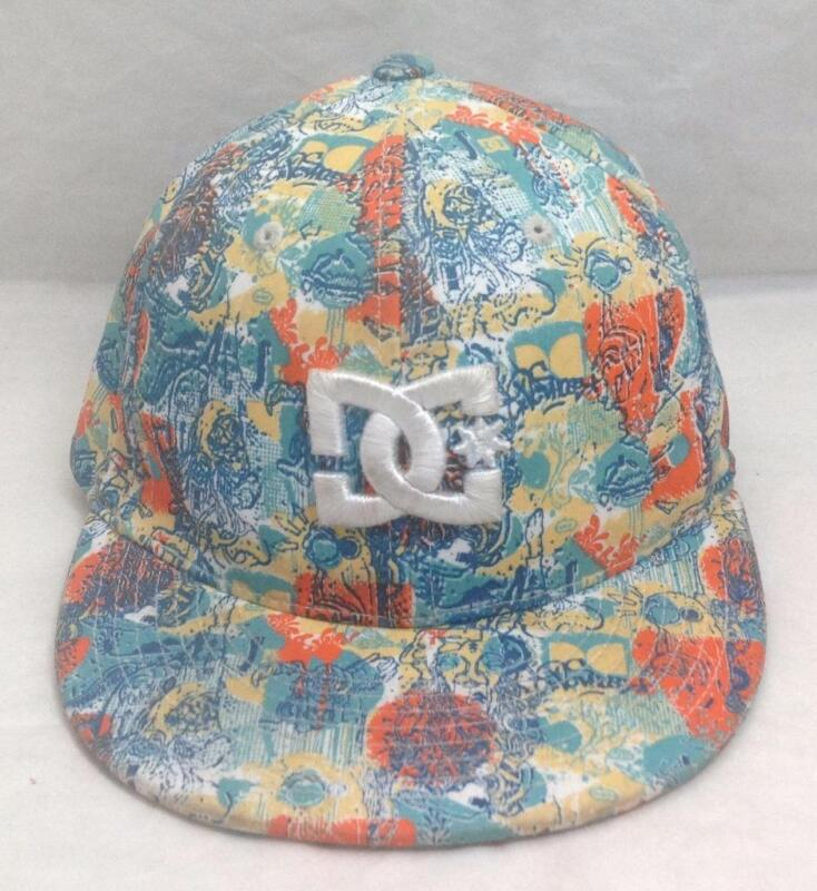 "DC Hat/Cap, SAMPLE HAT, RARE/Unique, Small/Youth, FlexFit, 21"", size 6-3/4"