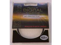 Kenko 62mm Digital MC Protector Filter Lumix FZ1000