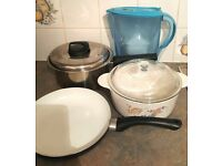 Large Pots, Frying Pan, Brita Filter, £10 for ALL