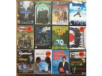 Job lot of DVDs & CDs
