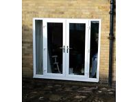 Patio doors-white really good condition
