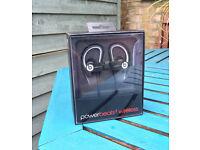 Beats by Dr. Dre Powerbeats Ear-Hook Headphones - Black, Sport