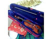 Violin full size 1920's, with Stradivarius label.