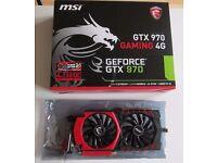 MSI NVIDIA GTX 970 Gaming 4G Graphics Card