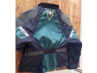 Frank Thomas ladies small motorbike jacket