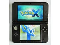 NINTENDO 3DS XL - 64GB - with 155 Games + Charger