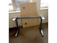 Metal Framed Office Desk