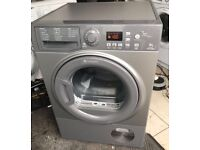 HOTPOINT 8kg grey condenser dryer £140 free delivery good condition