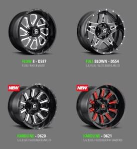GET YOUR FUEL WHEELS CALL 647-228-1284 TO ORDER! OFF-ROAD AGGRESSIVE OFFSETS! FORD/RAM/ SIERRA