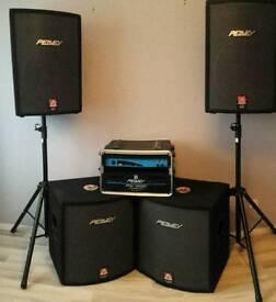 Full peavey hisys speaker system