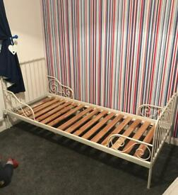 Ikea minnen children's bed & brand new mattress