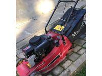 """Mountfield 16"""" Motor Lawnmower with Roller"""