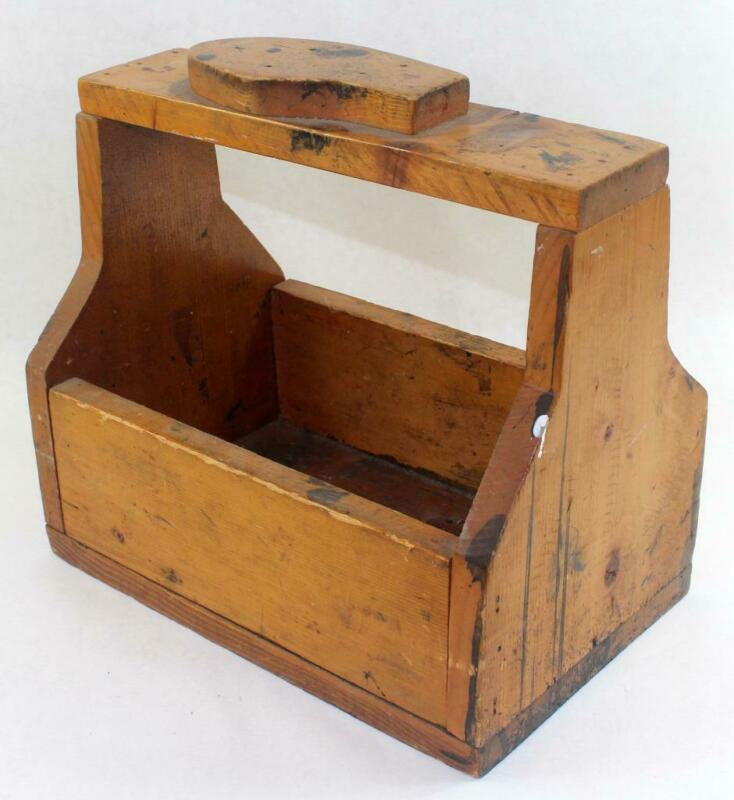 Vintage Primitive Shoe Shine Box