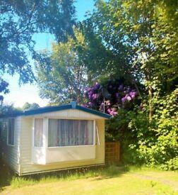 Static caravan for holiday rental