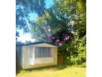 Static caravan for holiday rental