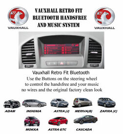 Vauxhall Retrofit OEM Upgrade Bluetooth for CD300 & CD400Headunits call