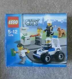 Lego City set police and robbers set 7279
