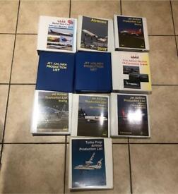 Airlines Markings Plane Spotting by Aviation Publishing A Eastwood and various