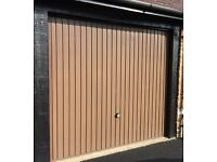 Up and Over Solid Steel Garage Door or 2 Garage Doors, Excellent Condition!