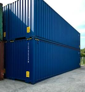 Shipping containers storage containers