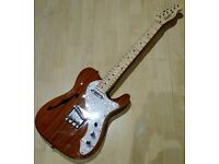 Squier by Fender Classic Vibe Telecaster Thinline tele CV