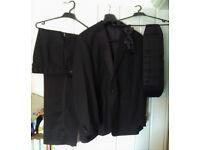Smart Tuxedo Jacket Trousers Cumberbund Bow tie