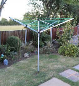 Rotating Garden Washing Line