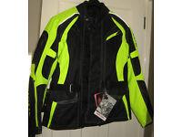 Richa Rix-2 fluorescent hiviz motorcycle jacket Large (UK 42)