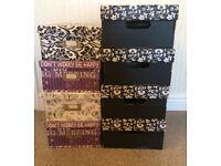 8 Decorative storage boxes