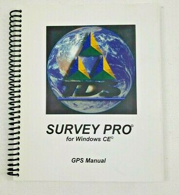 Survey Pro Gps Manual Book For Windows Ce New